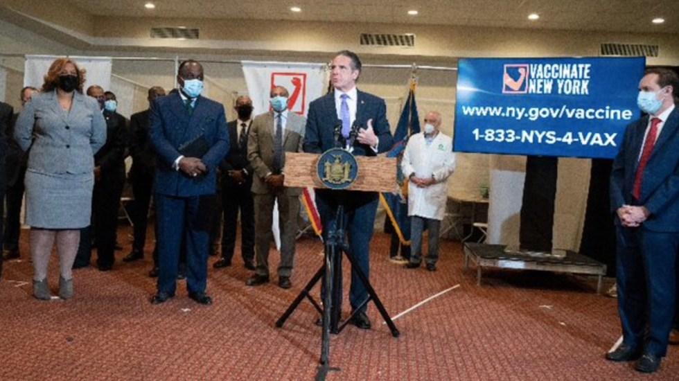 Gobernador de Nueva York habría dado prioridad a sus familiares para que se hicieran pruebas de COVID-19 - El gobernador de Nueva York Andrew Cuomo. Foto de Twitter Andrew Cuomo