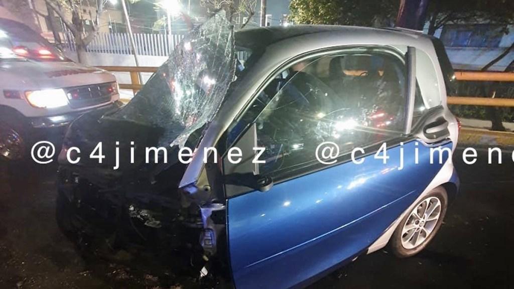Muere tras accidente automovilístico Leonel Luna, exdelegado de Álvaro Obregón, - Foto de @c4jimenez