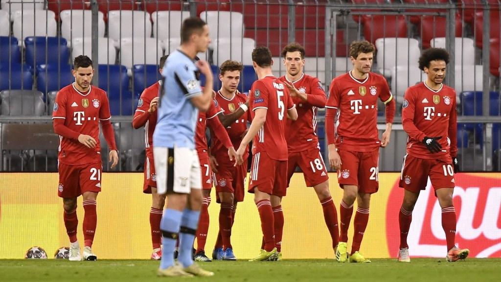 Bayern pasa el trámite y llega a los cuartos de final de la Champions al derrotar al Lazio - Foto de EFE/EPA/LUKAS BARTH-TUTTAS