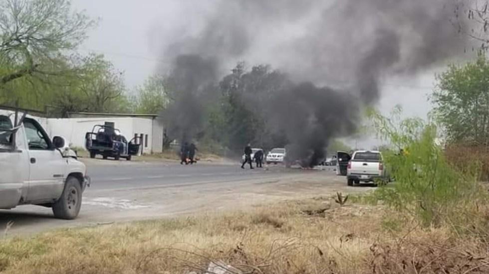 Reportan bloqueos en la carretera Reynosa-Nuevo Laredo - Bloqueos Tamaulipas