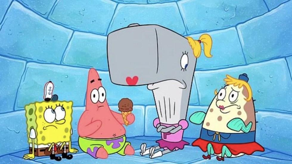 Nickelodeon elimina episodio de Bob Esponja sobre un virus que obliga a hacer cuarentena - Bob Esponja Pantalones Cuadrados. Foto de Nickelodeon