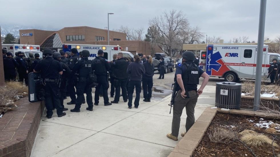Tiroteo en Boulder, Colorado, deja 10 muertos, entre ellos un policía - Boulder Colorado tiroteo disparos