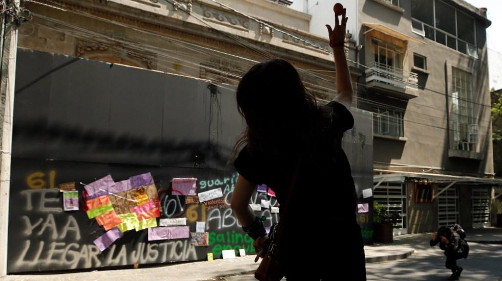 """""""Me siento amenazada"""": esposa de Andrés Roemer tras agresiones a casa del diplomático - Foto de EFE"""