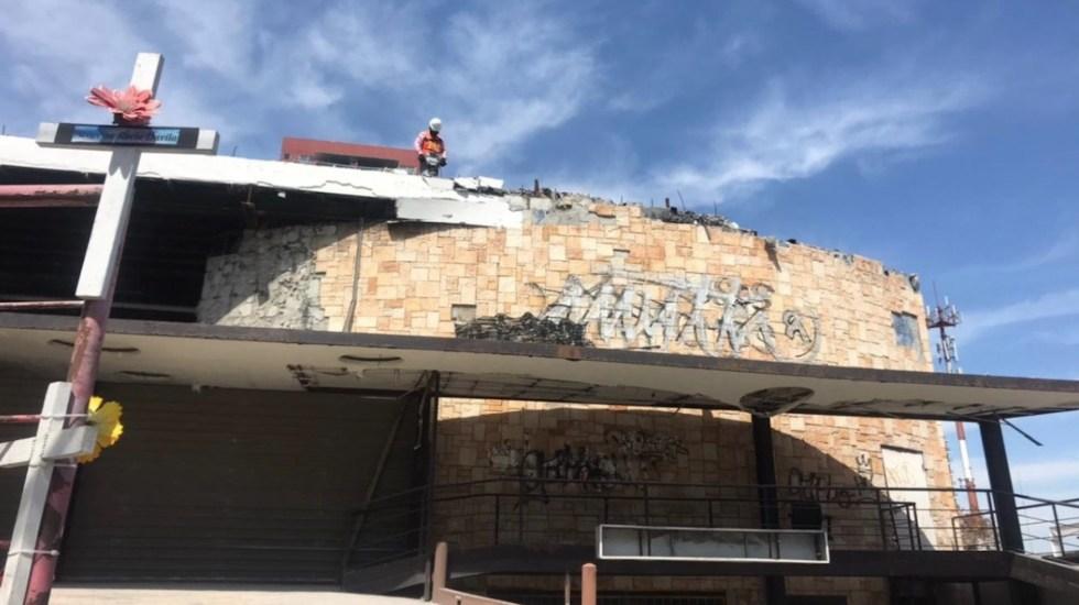 #Video Inicia demolición del Casino Royale en Monterrey - Foto de TeleDiario Monterrey