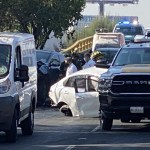 #Video Hombre muere prensado por camioneta en Azcapotzalco; auxiliaba a víctimas de choque