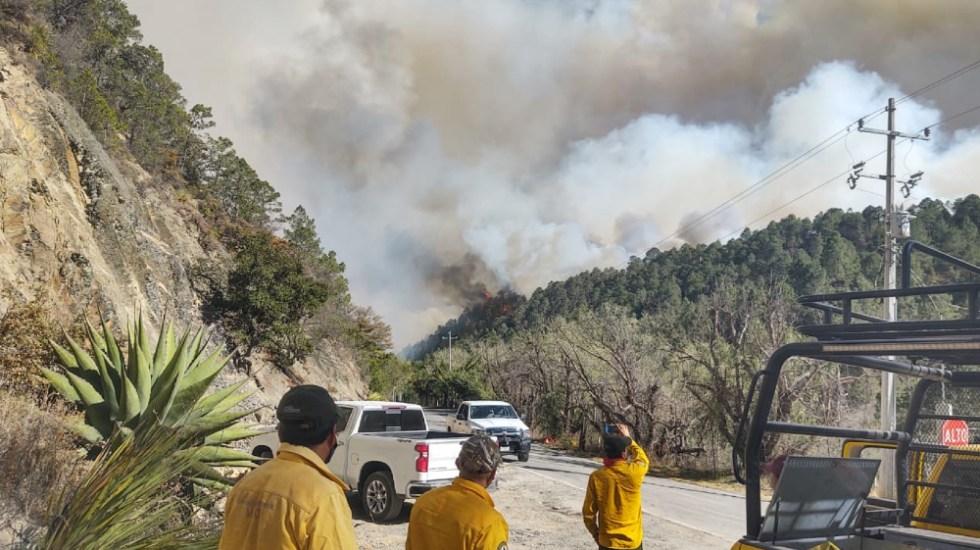 México vive una de sus peores temporadas de incendios forestales en años - Foto de @CONAFOR