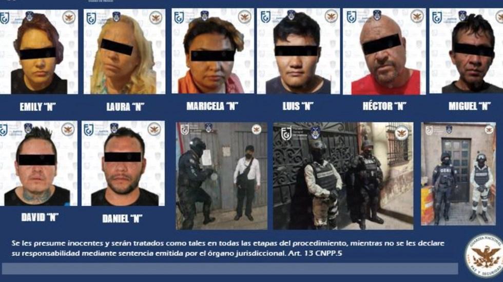 Detienen a ocho en cuatro cateos en Iztapalapa y Gustavo A. Madero; decomisan mariguana y cocaína - Foto de FGJ CDMX