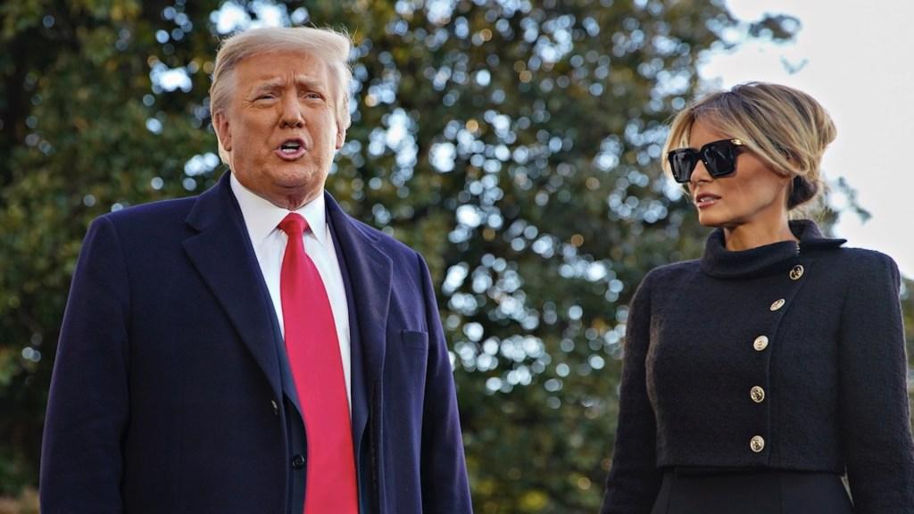 Donald y Melania Trump habrían recibido vacuna contra el COVID-19 antes de dejar Casa Blanca, revelan medios - Foto de EFE