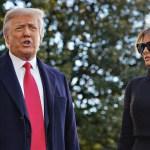 Los Trump se vacunaron antes de salir de la Casa Blanca - Foto de EFE