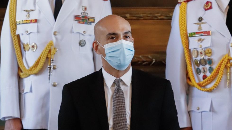 Renuncia ministro de Salud de Paraguay en medio de crisis sanitaria - Dr. Julio Mazzoleni, exministro de Salud Pública de Paraguay. Foto de EFE
