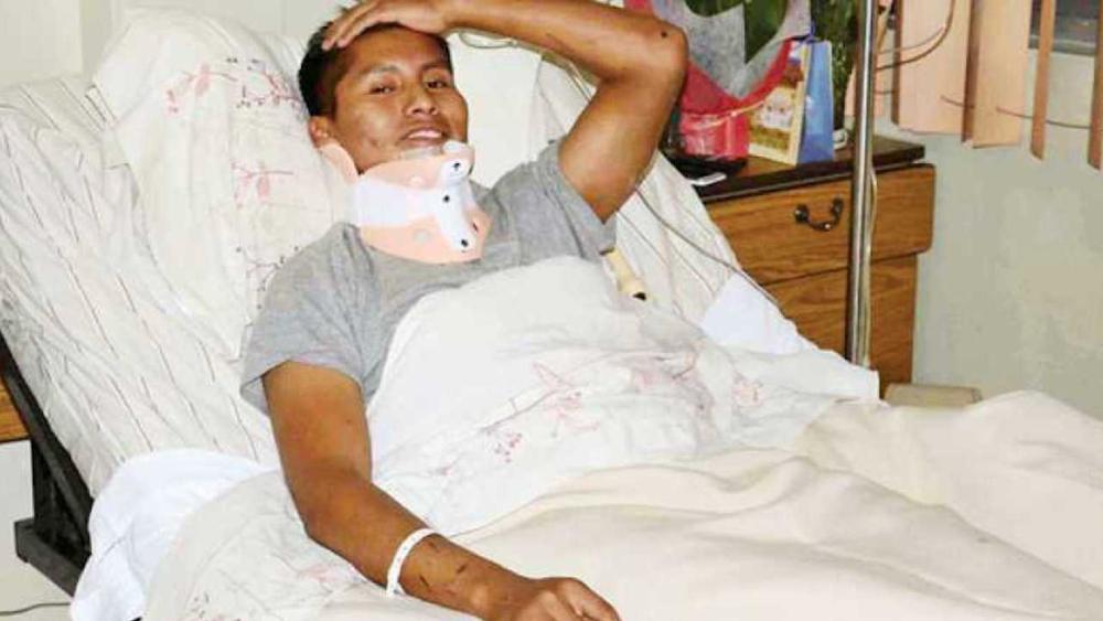 Sobreviviente del accidente de Chapecoense vuelve a salvar la vida en Bolivia - Foto de Opinión de Bolivia