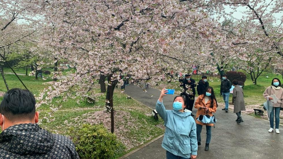 Un año después, Wuhan recupera su festival de los cerezos en flor - Festival de los cerezos en flor en Wuhan, China. Foto de EFE