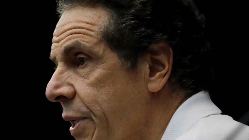 El gobernador Cuomo insiste en que no dimitirá ante acusaciones de acoso - Gobernador de Nueva York, Andrew Cuomo. Foto de EFE