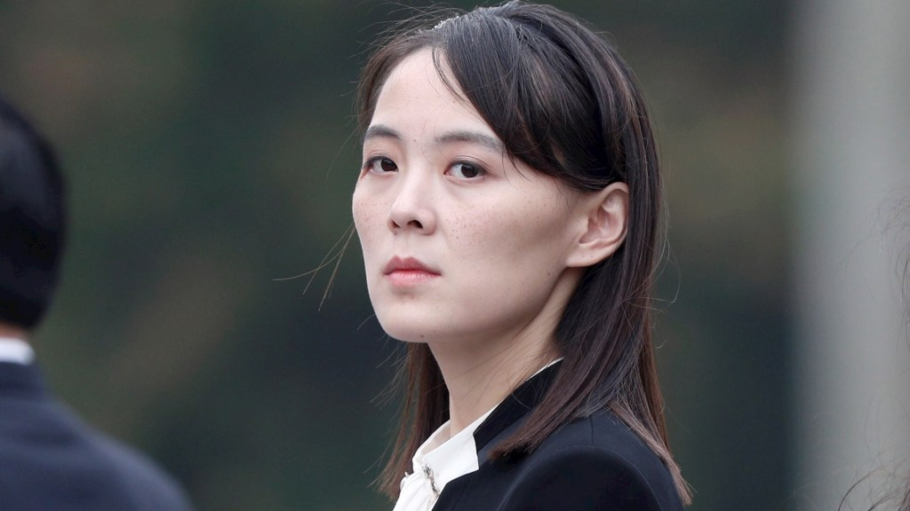 Hermana de líder norcoreano amenaza con romper pacto militar con Corea del Sur - Hermana Kim Jong-un Corea del Norte Asia