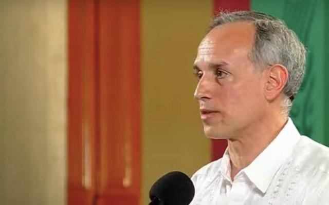 Hugo López-Gatell se reincorpora a la conferencia vespertina de Salud - Captura de pantalla