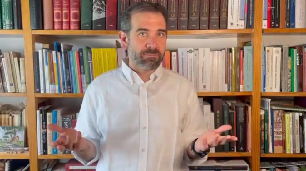Selección de candidatos a diputados será incluyente, destaca Córdova - INE Lorenzo Córdova Instituto Nacional Electoral