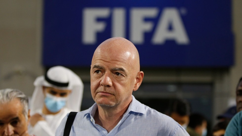 Infantino, a favor de una unión de la MLS y la Liga MX - Gianni Infantino, presidente de la FIFA. Foto de EFE