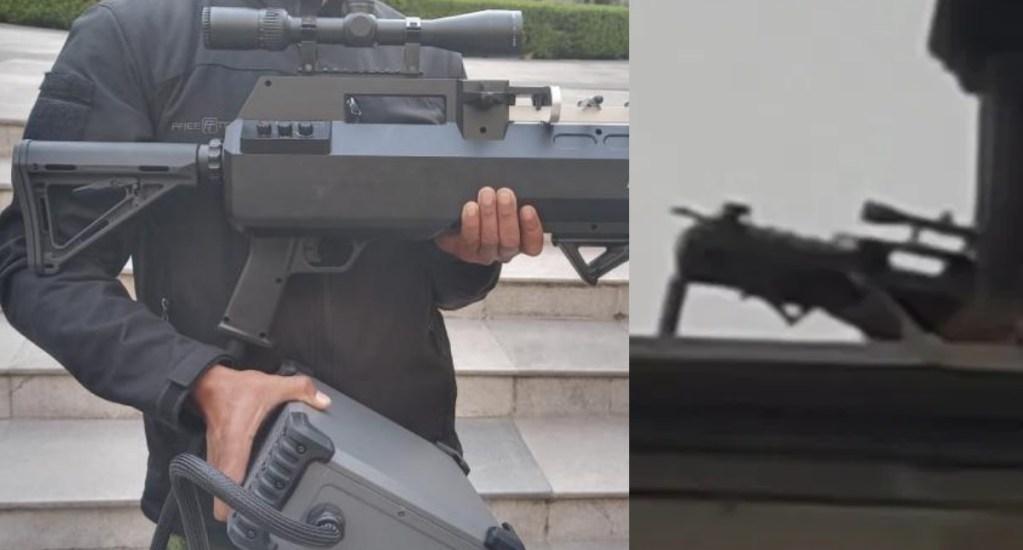 Nunca hubo personal armado en azotea de Palacio Nacional; se usó inhibidor de drones, asegura Presidencia - Inhibidor drones marcha 8M Ciudad de México