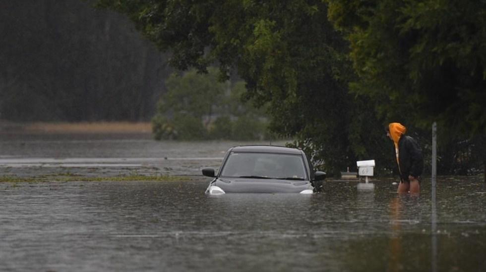 Más de 18 mil personas desalojadas en Australia por inundaciones - Autoridades australianas desalojaron a unas 18 mil personas por las inundaciones de los últimos días. Foto de EFE.