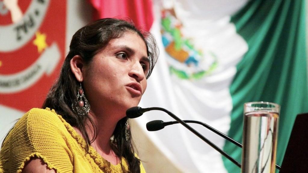 Asesinan en Oaxaca a Ivonne Gallegos, precandidata a la alcaldía de Ocotlán - Ivonne Gallegos fue asesinada en un ataque armado. Foto de @DistrittD