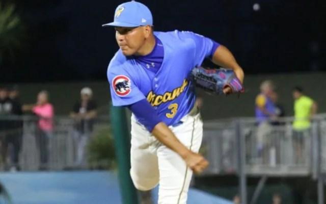 Arrestan a beisbolista mexicano por posesión de drogas en EE.UU. - Jesús Camargo Corrales. Foto: Myrtle Beach Pelicans. (Archivo)