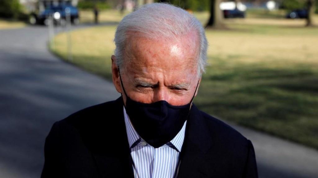 Biden viajará a la frontera con México ante la crisis de niños migrantes - El presidente de Estados Unidos, Joe Biden. Foto de EFE.