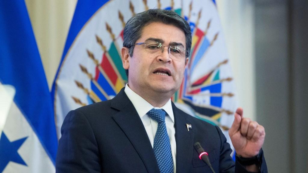 Cadena perpetua al hermano del presidente hondureño por narcotráfico - Juan Orlando Hernández, presidente de Honduras. Foto de EFE