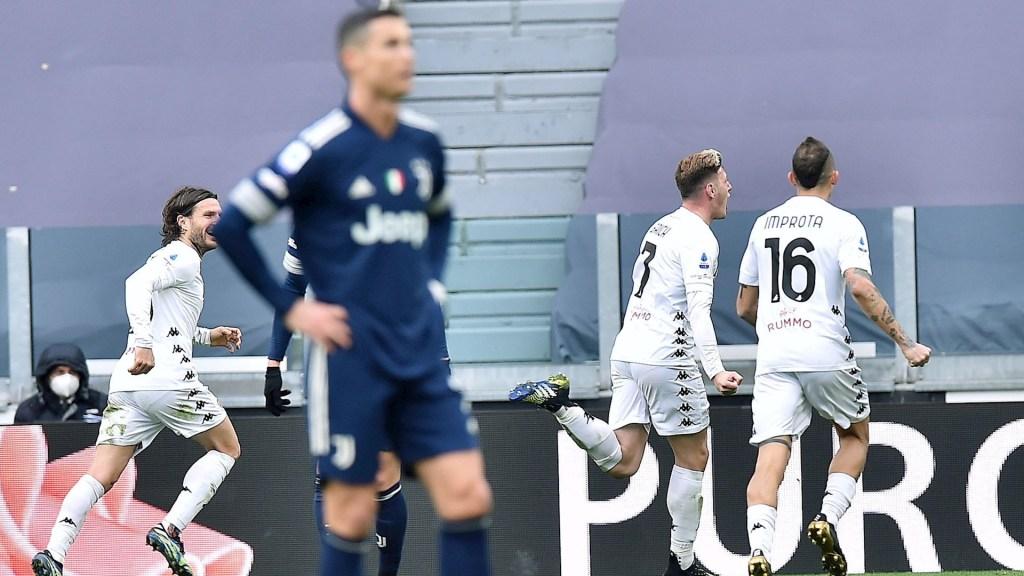 Juventus toca fondo y deja el 'Scudetto' a merced del Inter - Juventus partido Cristiano Ronaldo 210320211