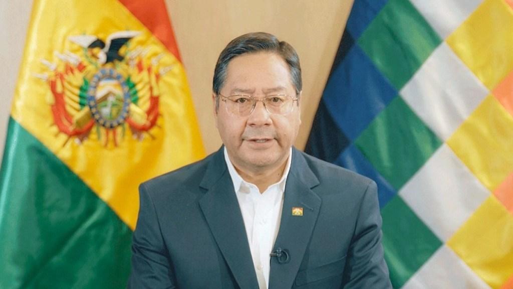 Presidente de Bolivia realiza visita oficial de dos días a México - Luis Arce, presidente de Bolivia. Foto de @LuchoXBolivia