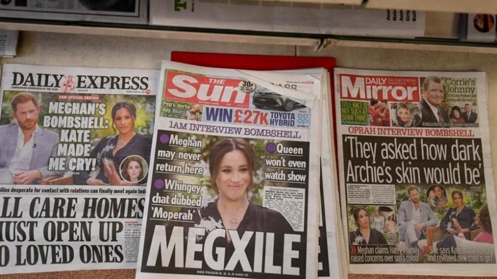 Buckingham y las acusaciones de racismo por parte de los duques de Sussex - Foto de EFE.