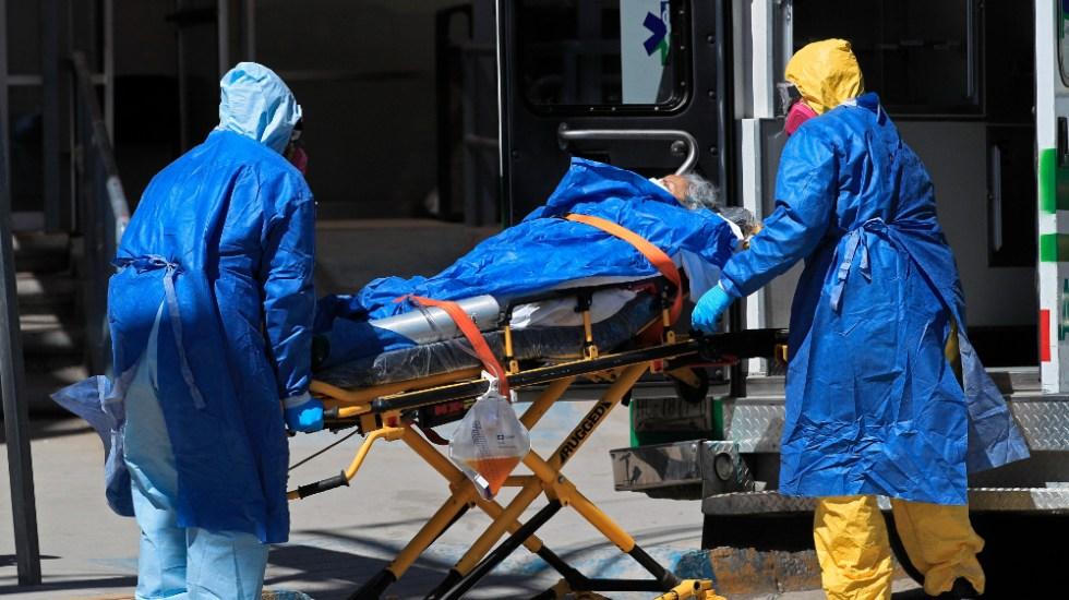 En las últimas 24 horas México registró 5 mil 303 casos nuevos y 651 muertes por COVID-19 - Foto de EFE