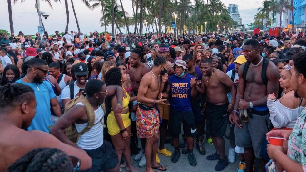 Miami Beach, en alerta ante nuevo fin de semana con multitudes - Miami Beach. Foto de EFE