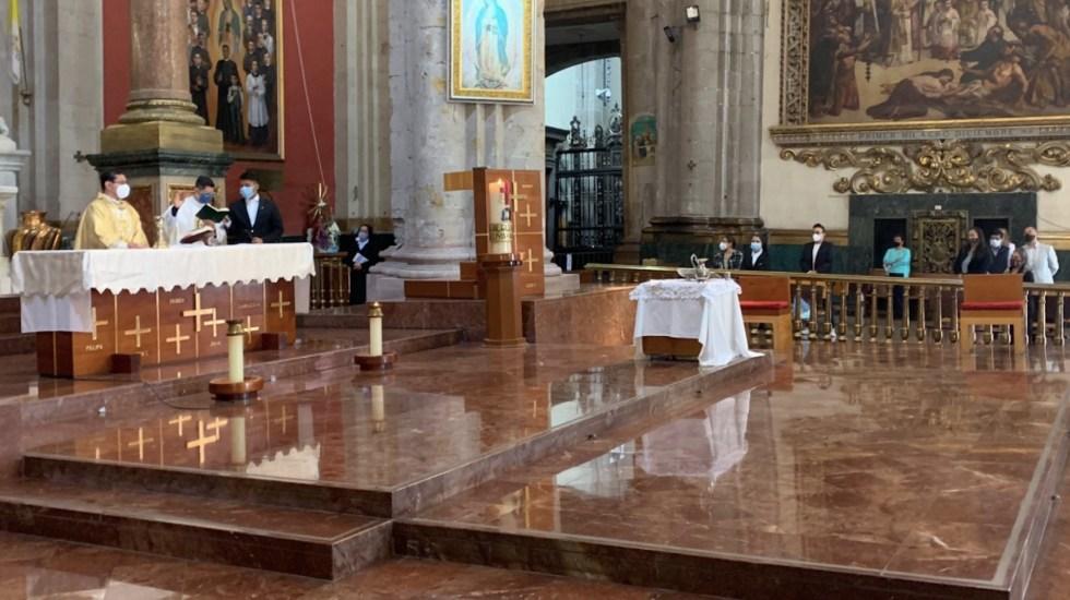 Algunas actividades de Semana Santa podrán realizarse de manera presencial, asegura monseñor Alfonso Miranda - Durante la Semana Santa se llevarán a cabo algunas actividades presenciales. Foto de CEM
