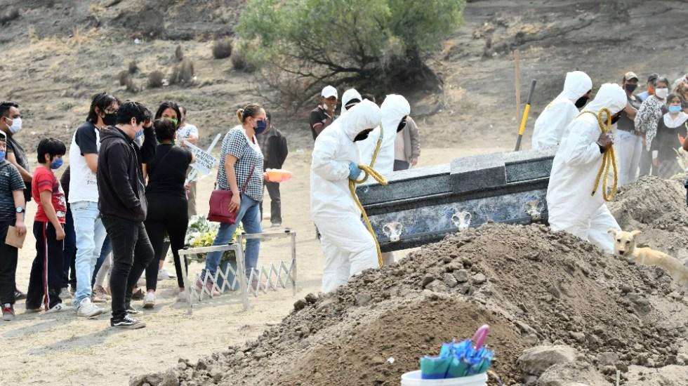 México rebasó los 2 millones 250 mil contagios de COVID-19; registró en las últimas 24 horas mil 263 casos y 136 muertes - muertos decesos COVID-19 Mexico coronavirus