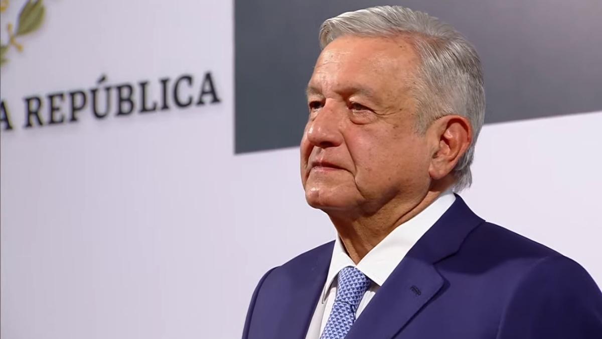 Palacio Nacional México informe López Obrador primer trimestre 12
