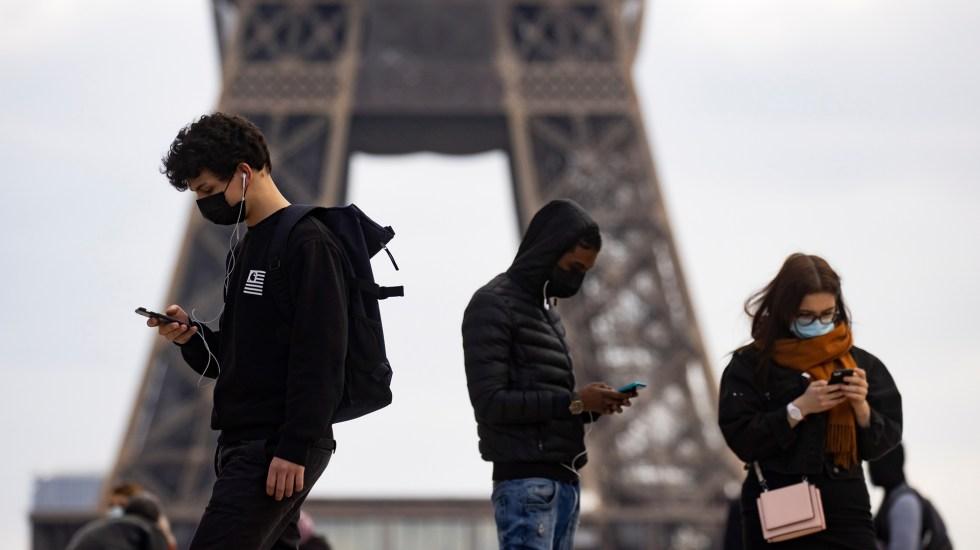 Francia fija el 30 de junio como fecha para el fin de la crisis por COVID-19 - Pandemia de coronavirus en Francia. Foto de EFE