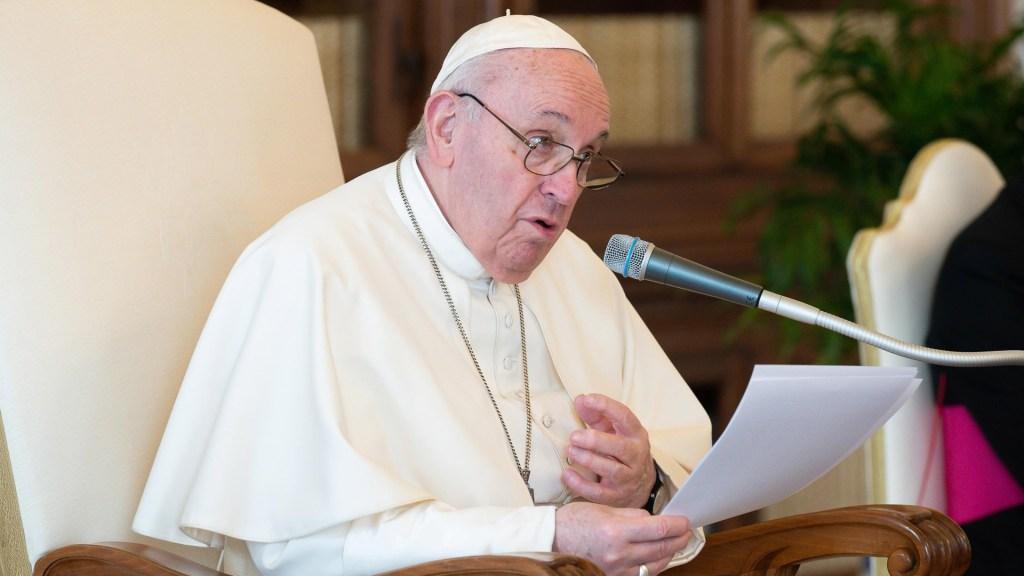 Papa Francisco pide que acabe el desperdicio, mercantilización y contaminación del agua - Papa Francisco. Foto de EFE
