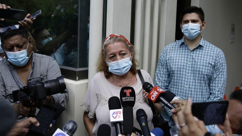 Familia de Victoria Esperanza demandará a México por homicidio - Rosibel Emérita Arriaza, madre de la salvadoreña Victoria Salazar quien murió al ser sometida por la policía de Tulum. Foto de EFE
