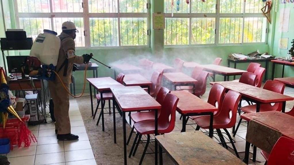 Alista Campeche regreso voluntario a clases presenciales de nivel básico - clases Campeche escuelas