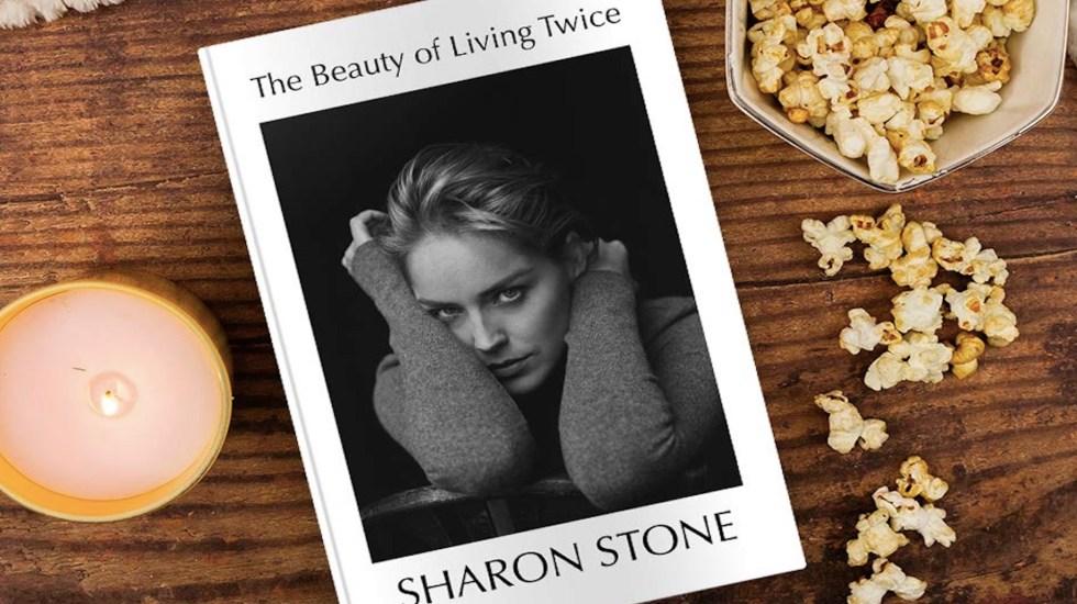 Sharon Stone revela abusos en Hollywood en sus nuevas memorias - El nuevo libro de Sharon Stone. Foto de Amazon