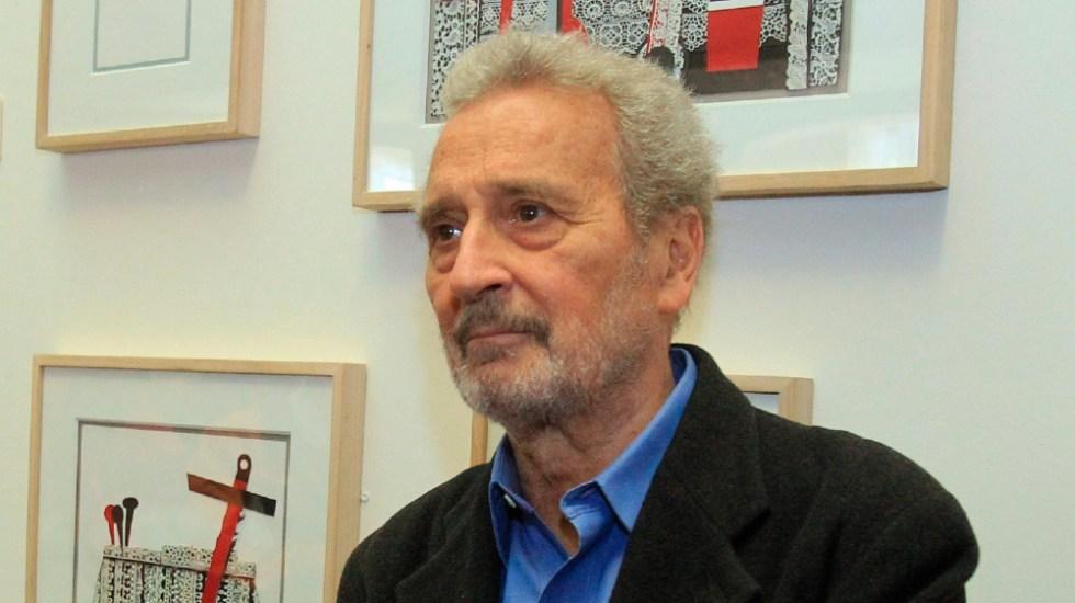 Vicente Rojo, uno de los autores más importantes del abstraccionismo en México - El artista Vicente Rojo. Foto de EFE