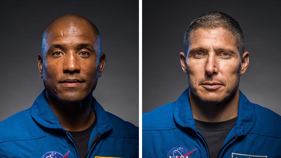 Victor Glover and Michael Hopkins. Foto de NASA.