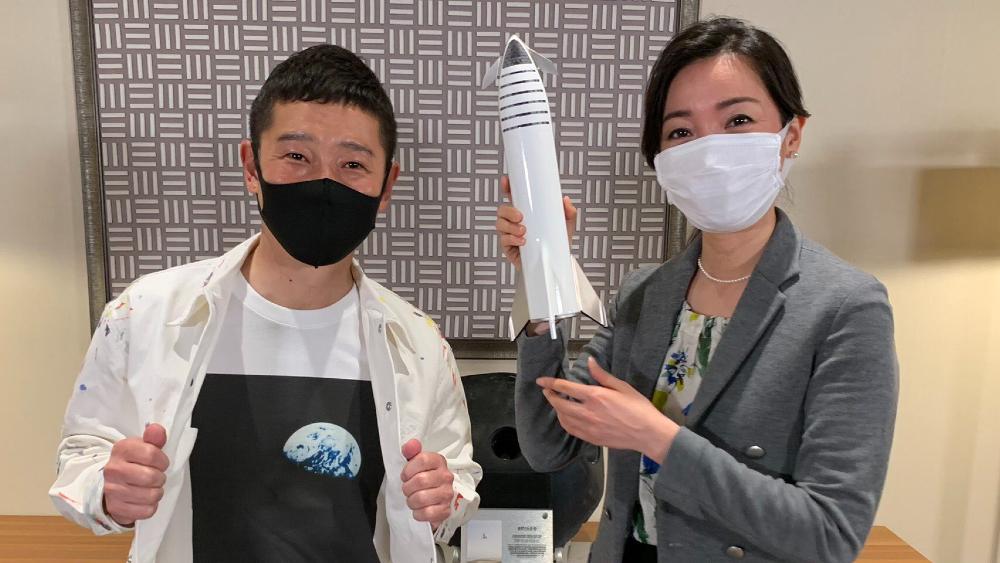 "Empresario japonés invita a ocho tripulantes ""creativos"" a viajar a la Luna - Foto de @yousuck2020"