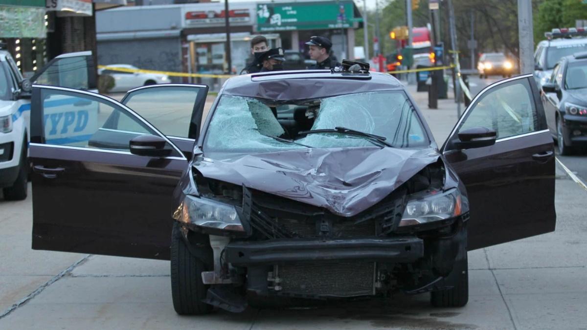 Accidente Nueva York mujer atropella