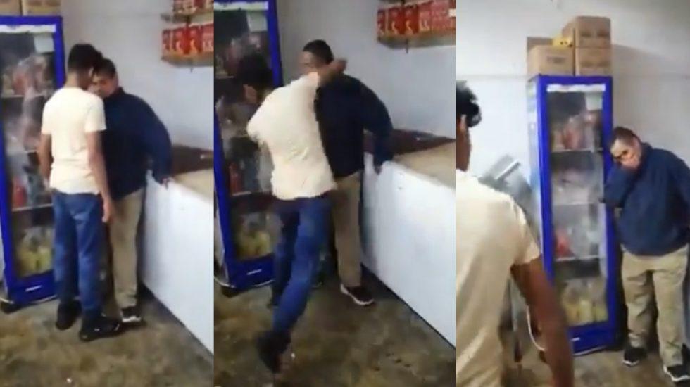 'Broma' provocó agresión a hombre con síndrome de Down en Tlalpan - Agresión en Tlalpan a hombre con síndrome de Down. Captura de pantalla