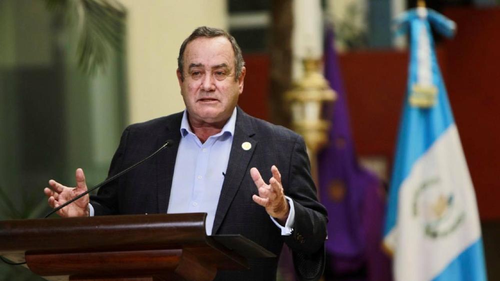 Presidente de Guatemala visitará México la próxima semana - Alejandro Giammattei Guatemala