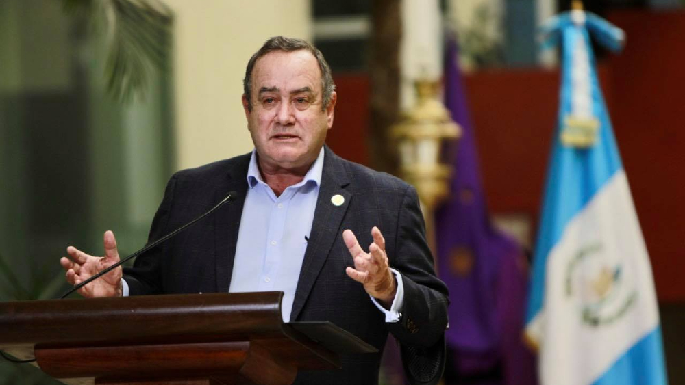 Alejandro Giammattei Guatemala