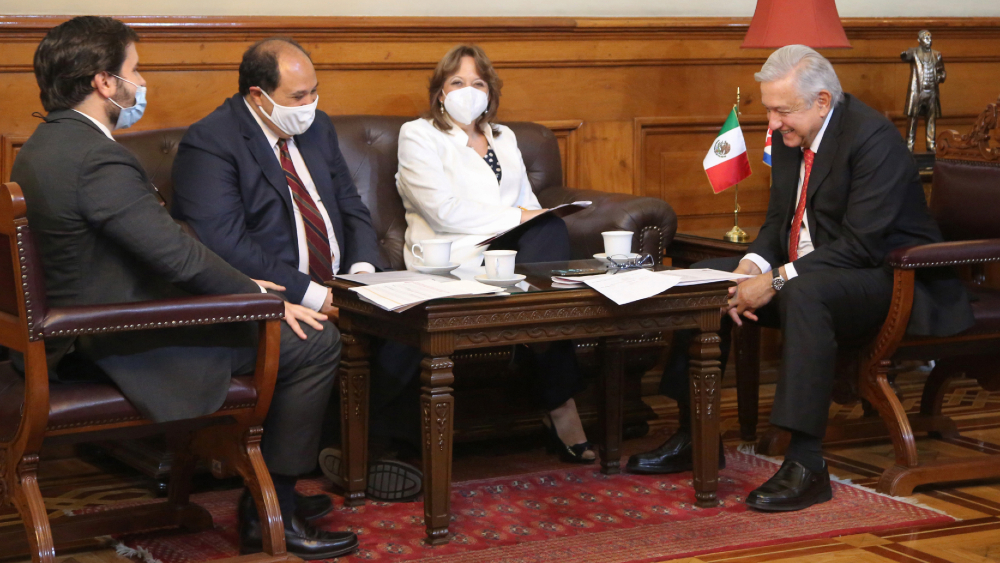 AMLO agradece a presidente de Cuba por envío de médicos y enfermeras - AMLO Cuba México Miguel Diaz Canel Lopez Obrador