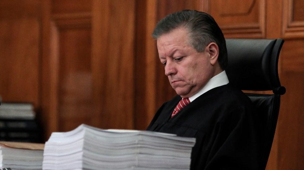 Senadores presentan recurso de inconstitucionalidad contra extensión de mandato de Arturo Zaldívar - Arturo Zaldivar SCJN Corte