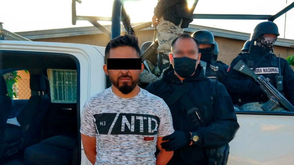 Detienen al 'Coma Santos', presunto líder de La Línea, por Caso LeBarón - Candelario N., 'El Coma Santos', presunto implicado en Caso LeBarón. Foto de @AdrianLebaron